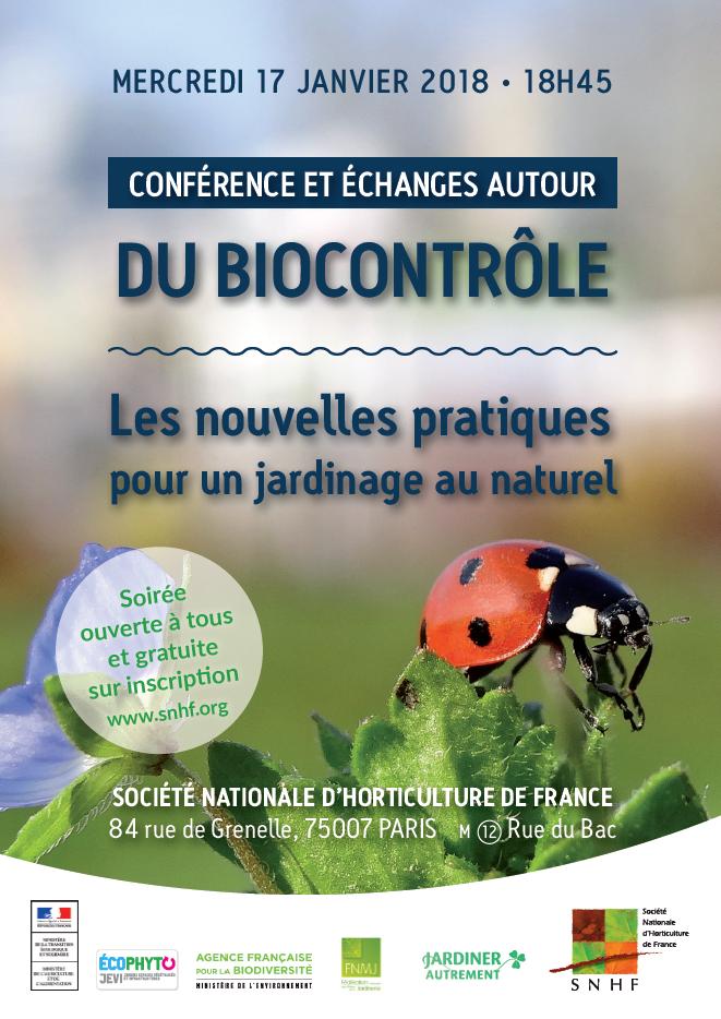 S'inscrire à la journée biocontrôle de Lyon